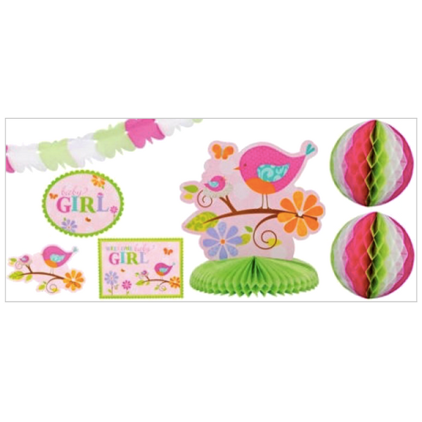 Tweet Baby Girl Decorating Kit