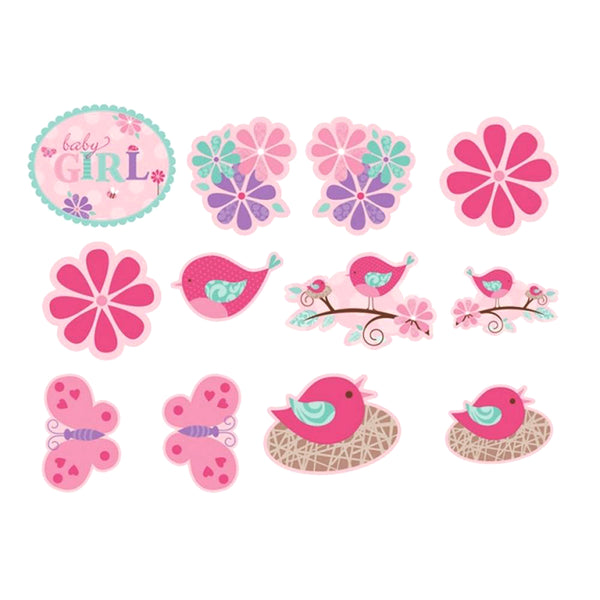 Tweet Baby Girl Value Pack Cut Outs