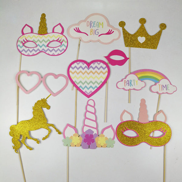 Unicorn Photo Booth Props