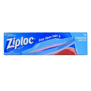 Ziploc Freezer Gallon
