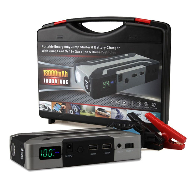 1000A Peak Current Car Jump Starter