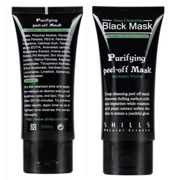 SHILLS BLACK MASK DEEP CLEANSING PURIFYING PEEL OFF MASK