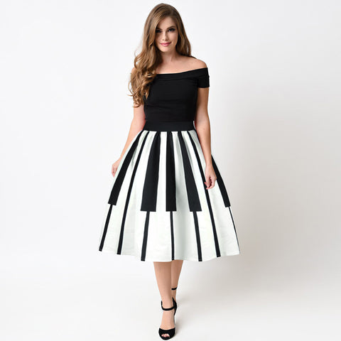 Women Pleated Skirts Fashion