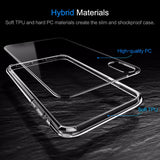 For iPhone X Case,Slim Case For iPhone X 10 Ultra Thin Capinhas PC & TPU Silicone Cover