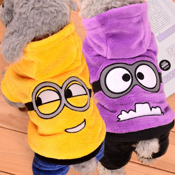 Soft Winter Puppy Coat Dog Clothes For Small Dogs Jumpsuit Winter Pet Clothing
