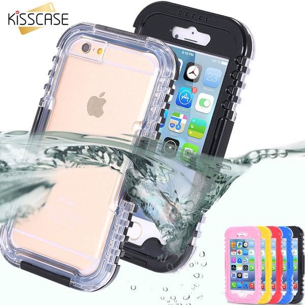 Waterproof Case For iPhone 6 6S Plus Swimming Phone Cases For iPhone 7 6