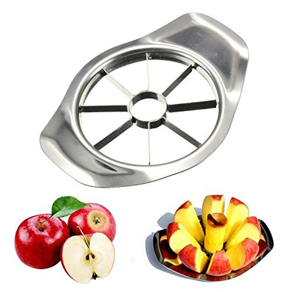 Kitchen Gadgets Stainless Steel Apple Cutter Slicer Vegetable Fruit - Free + Shipping