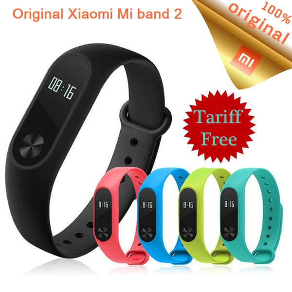 Band 2 Smart Wristband Fitness Bracelet OLED Touchpad MiBand 2 Heart Rate Monitor