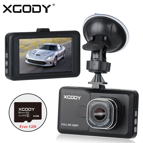 3 inch Car DVR HD 1080P Car Camera