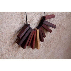 Wood Warrior Sensory Necklace