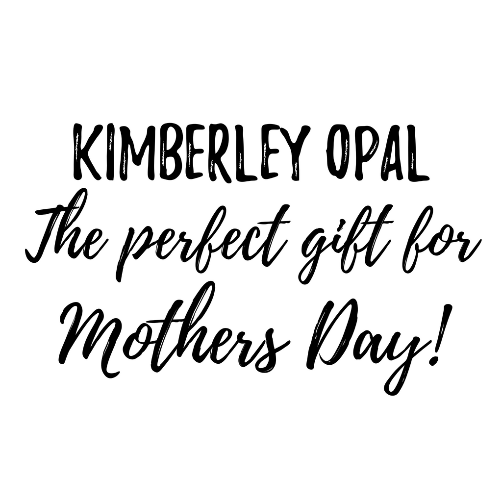 Handcrafted Australian Natural Opal Jewellery - The Perfect Gift for Mothers Day!