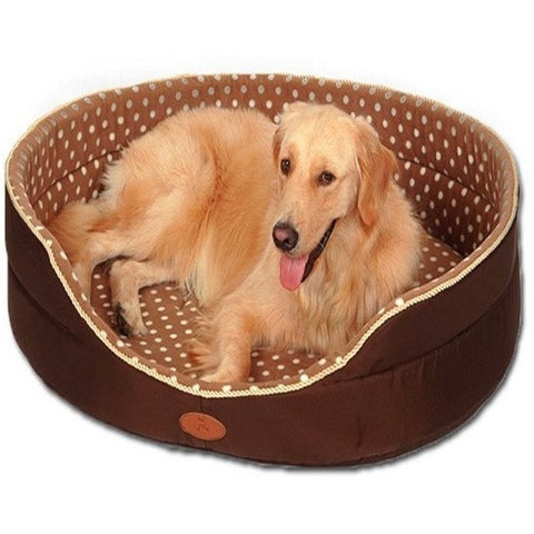 Reversible All Season Soft Dog Bed
