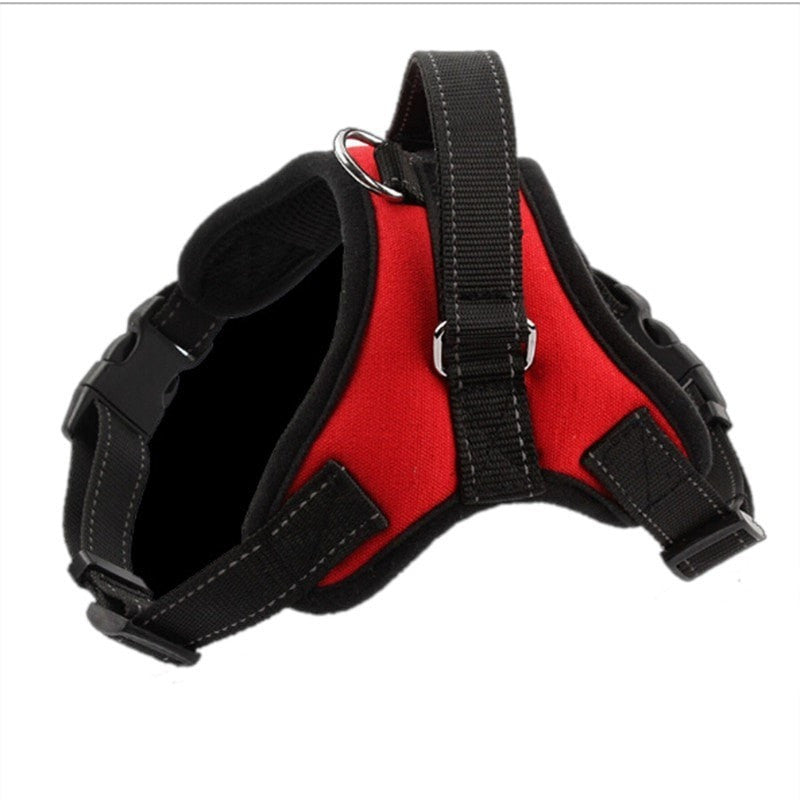 Comfortable Front Range Reflective Dog Harness