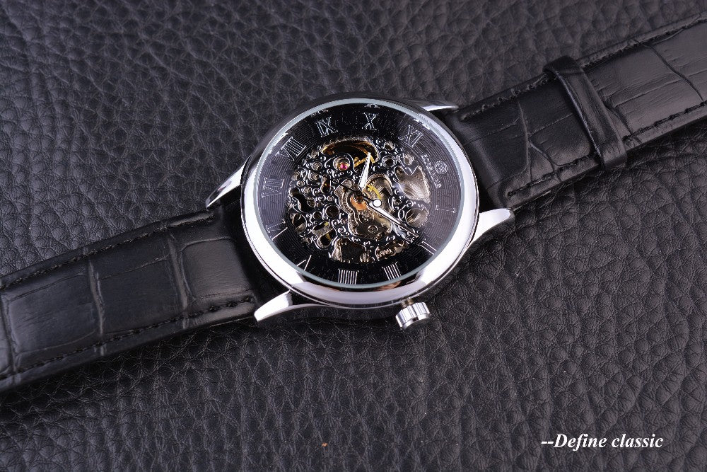 Mechanical Skeleton Mens Watch