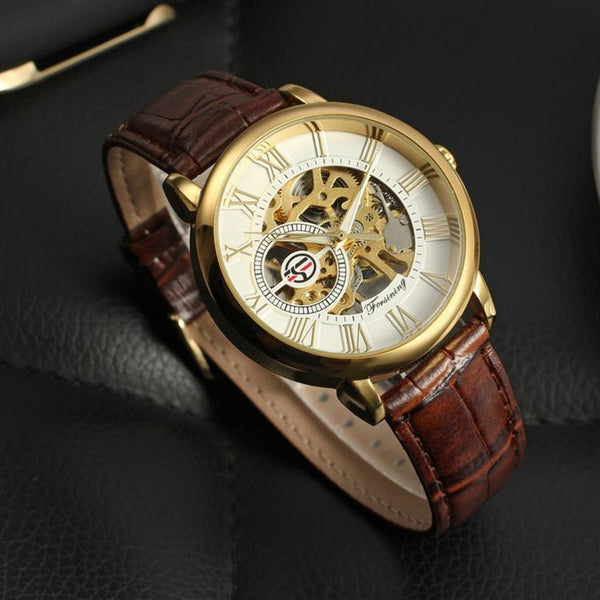 Automatic Style Dial Mens Watch