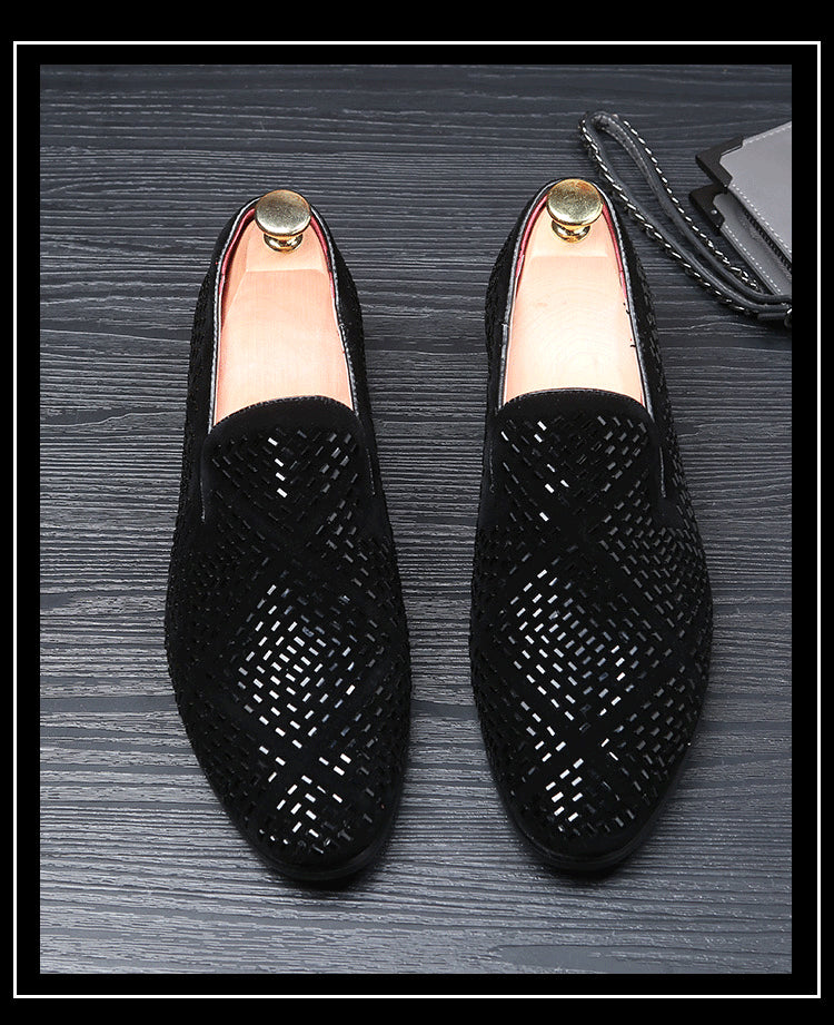 Men's Diamond Pointed Shoe