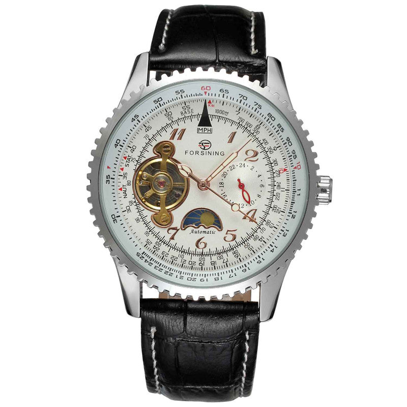 Automatic Weather Display Elegant Dial Mens Watch