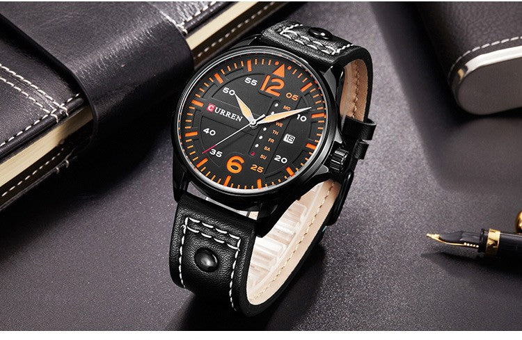 Casual Sport Look Dial Mens Watch