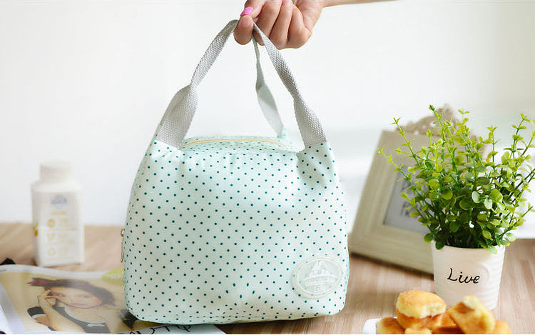 Fresh Coler Portable Insulated Thermal Snack Travel, Picnic Lunch Storage Bag