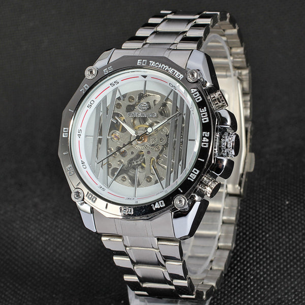 Automatic Stylish Dial Mens Watch