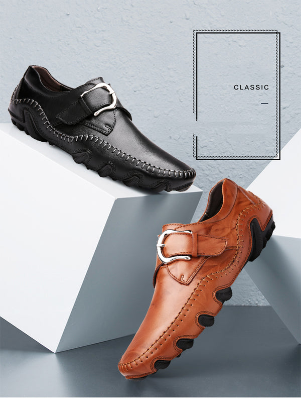 Handmade Men Causal Genuine Leather shoes
