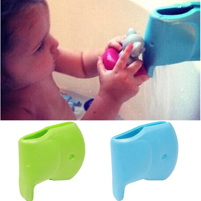 Cartoon Soft EVA Tap Faucet Protection Cover Baby Safety Protector Guards, Avoid Scald For Baby Bath