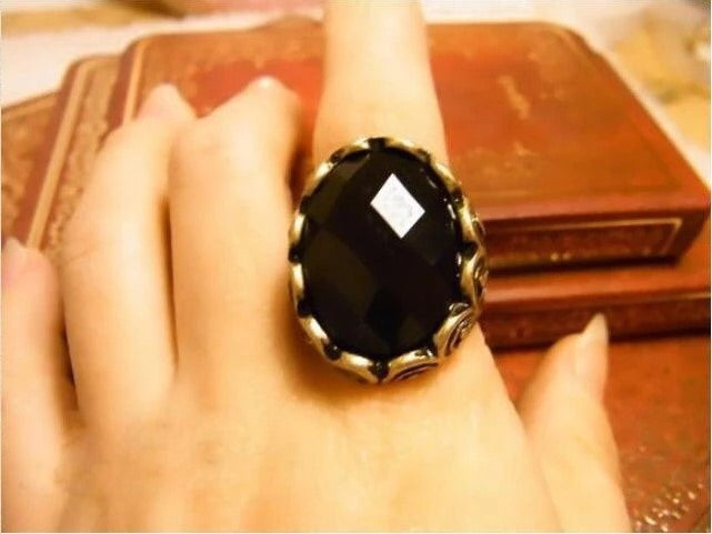 New Arrival Anciet Mysterious Cocktail Ring ..