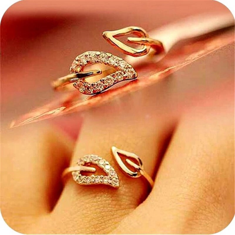 American Diamond Party Wear Ring