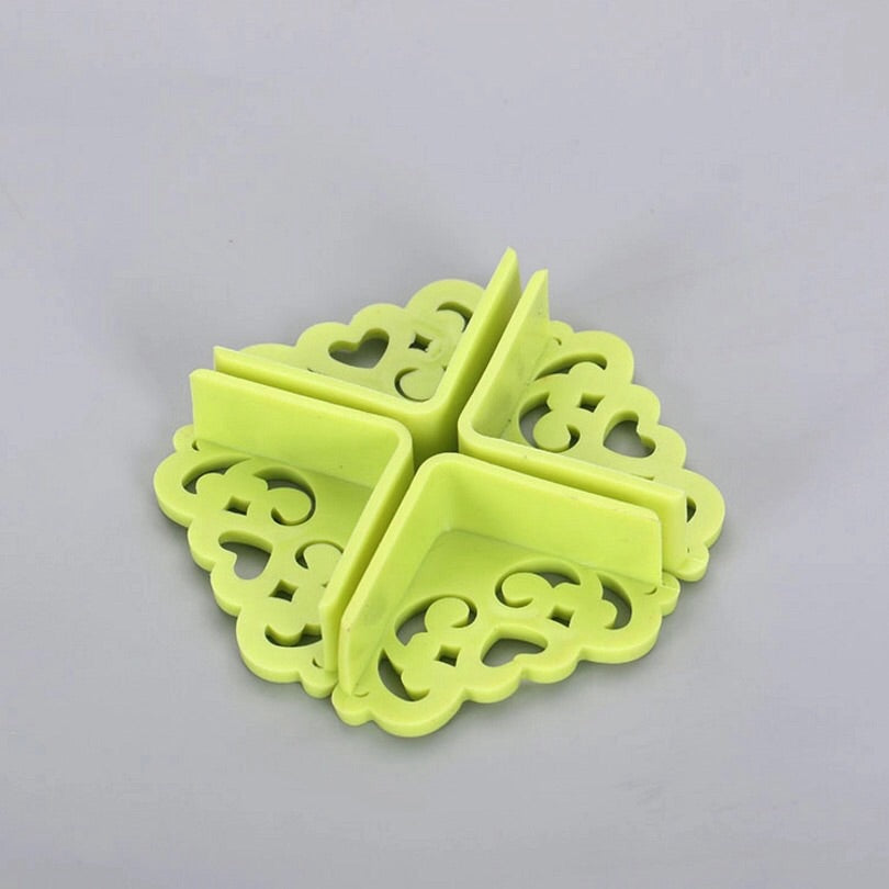 4Pcs/lot Hollow Out Flower Pattern Soft Baby Safe Corner Protector