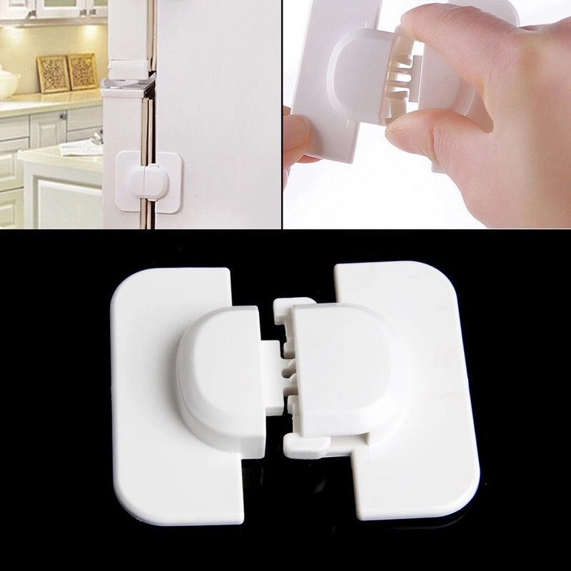 Child safety refrigerator locks .