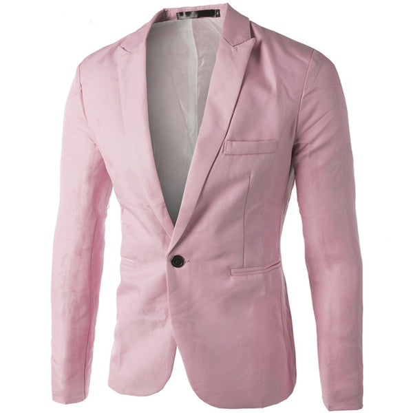 Sober Slim Fit Mens Blazer