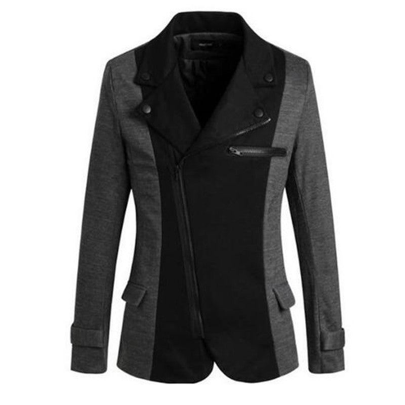 Casual Cotton Slim Inclined Slide Mens blazer