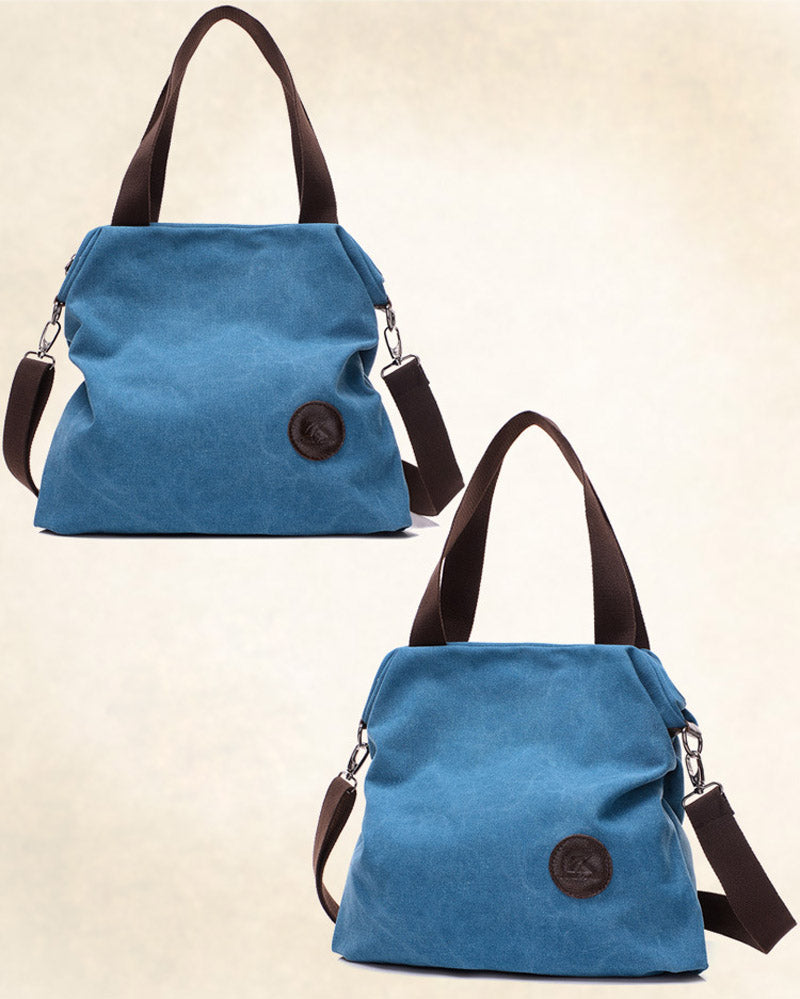 Casual Beach Woman Canvas Bags Women Shoulder Bag Female