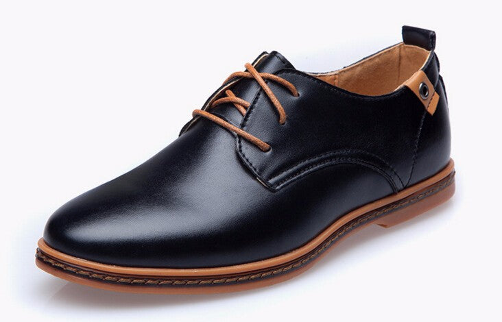 British Style  PU Leather Mens Shoe