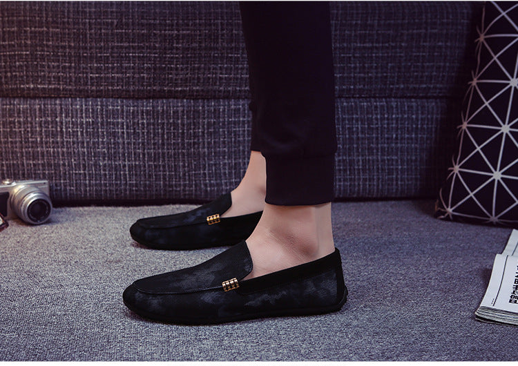 Men  Shoes Design Men Velvet Shoes Fashion Men Smoking Slippers Male Wedding And Party Loafers