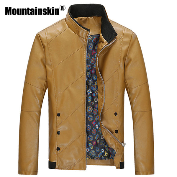 Dusty Fashion Men's Leather Jackets Leather Coat