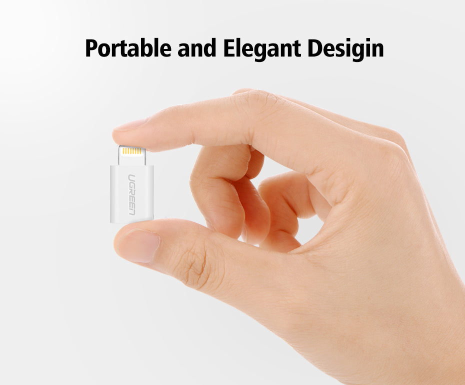 Micro USB to Lightning Cable Adaptor For iPhone Charging & Sync