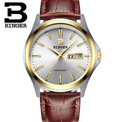 Switzerland luxury watch men quartz full stainless Waterproof watch