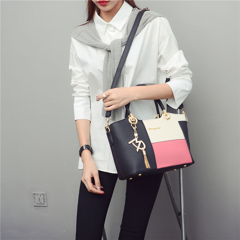 luxury leather handbags women shoulder bags female high quality designer casual tote crossbody bag