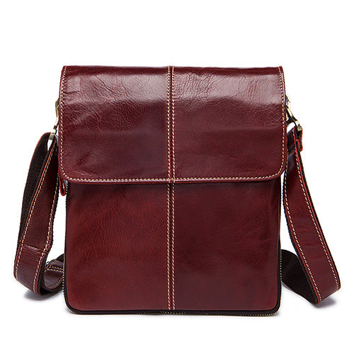 Leather Men Bag Fashion Leather Crossbody Bag Shoulder Men
