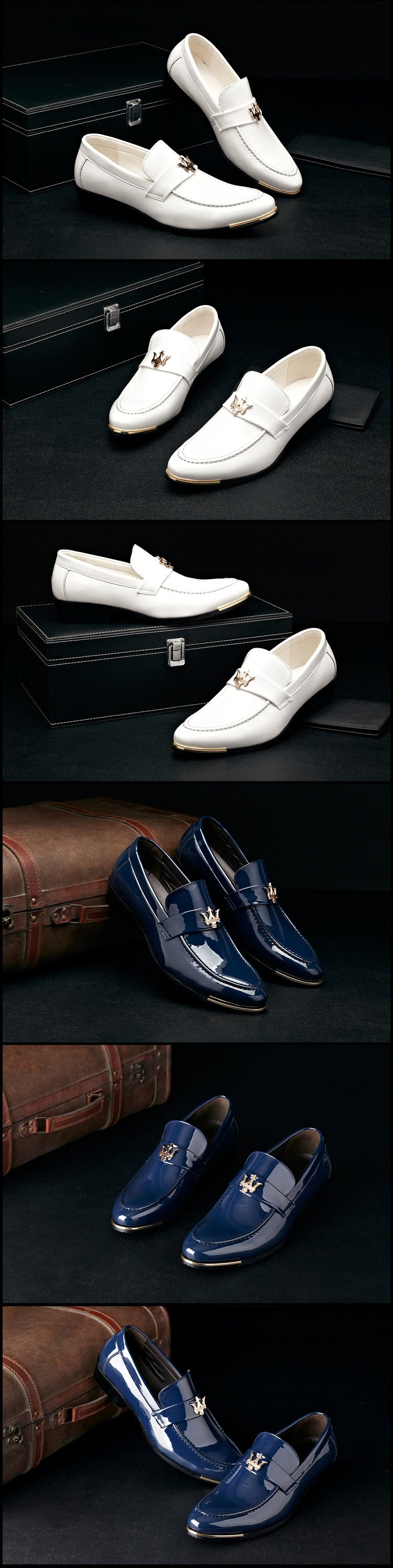 Business Mens PU Leather Elegant Shoe