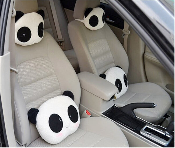 Hot Selling Panda Pattern Car Seat Neck Head Support .