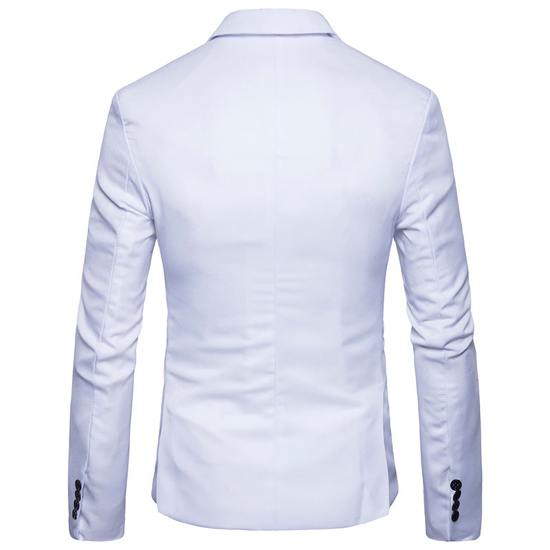England Thin Casual Mens Cotton Blazer