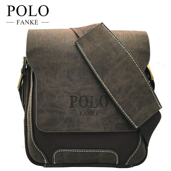 Designers Brand Men's Messenger Bags PU Leather Oxford Vintage Mens Handbag Man Crossbody Bag