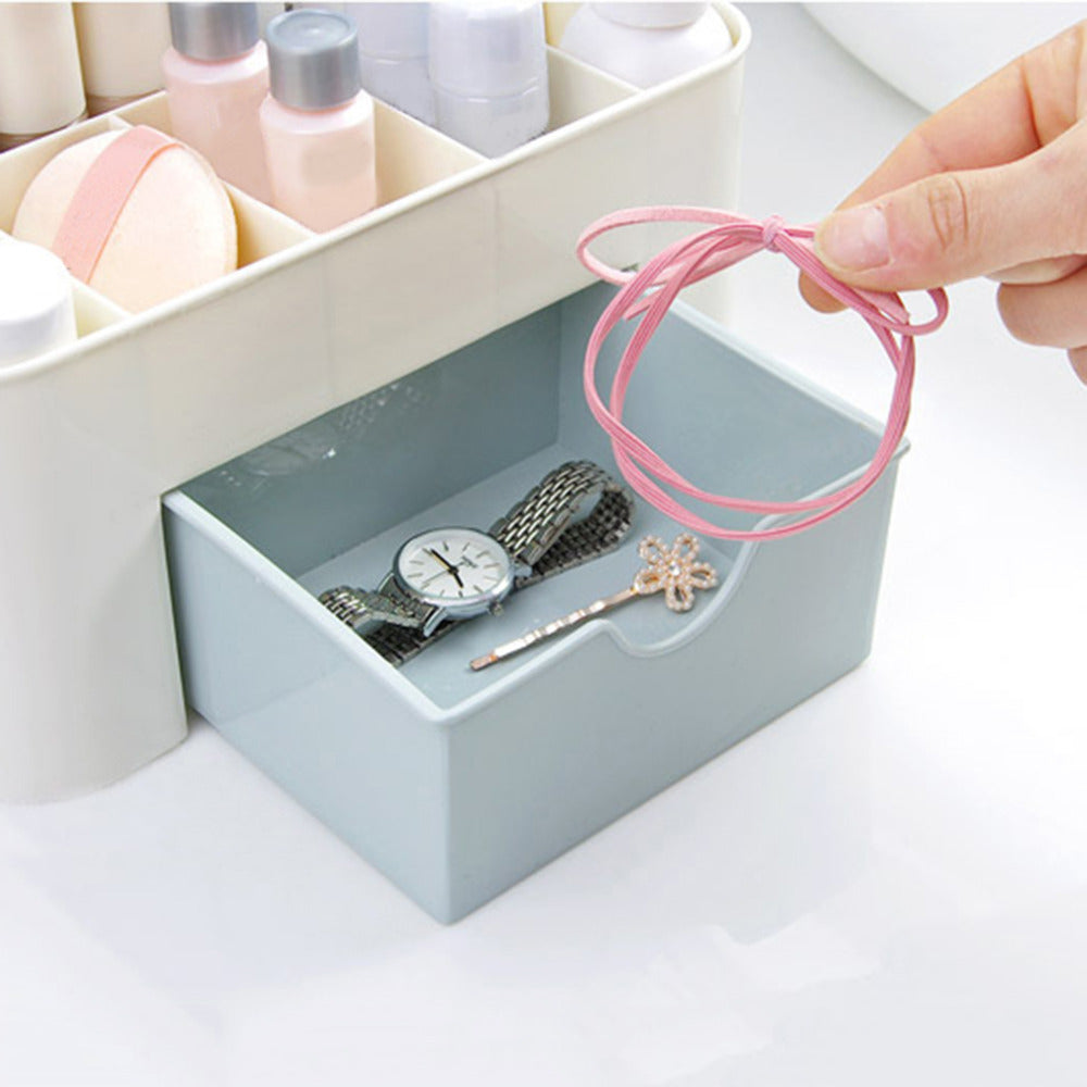 Mini Makeup Storage Box Cosmetic case Lipstick Cases Sundries Case Small Objects Box Wholesale Desktop Organizer