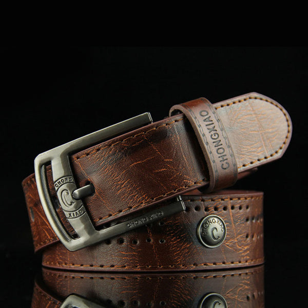 Men's Hip Hop Style Antique Belt