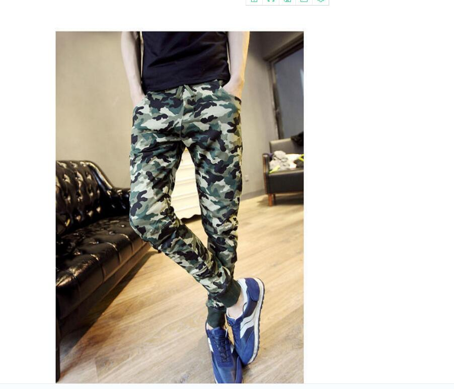 Camo Joggers Pencil Pants Fashion Slim Fit Camouflage Pants Men Pants For Track New Arrival