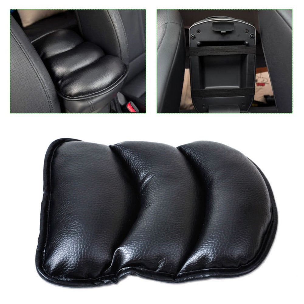 Leather Armrest Console Box Armrest Seat High Quality Protective Pad Mat
