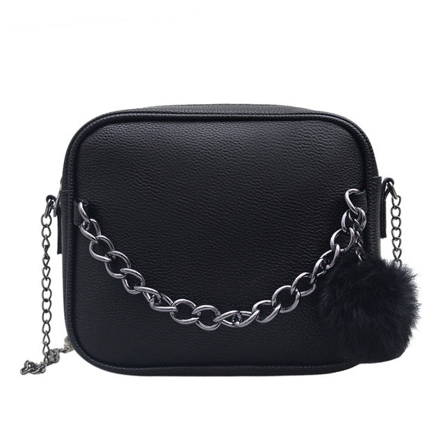 Designer Chain Women Bag Leather Handbag
