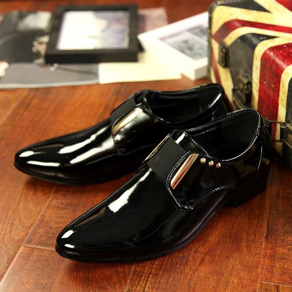 Men Dress Shoes Men Business Flat Shoes Black Brown Breathable Low Top Men Formal Office Shoes